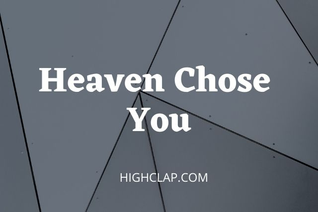Heaven Chose You Lyrics- 12 Play: 4th Quarter | R. Kelly