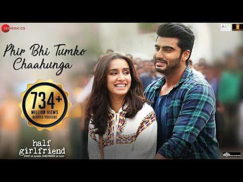 Main Phir Bhi Tumko Chahunga Lyrics| Arijit Singh | HighClap
