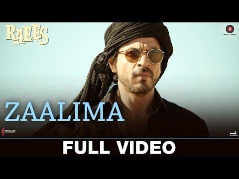 Zaalima (ज़ालिमा) Lyrics- Raees   Arijit Singh, Harshdeep Kaur