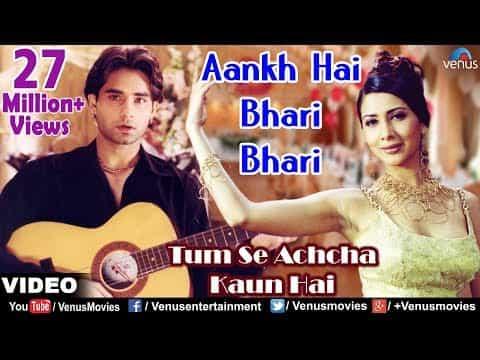 Aankh Hai Bhari Bhari (आँख है भरी भरी) Lyrics- Tum Se Achcha Kaun Hain   Kumar Sanu