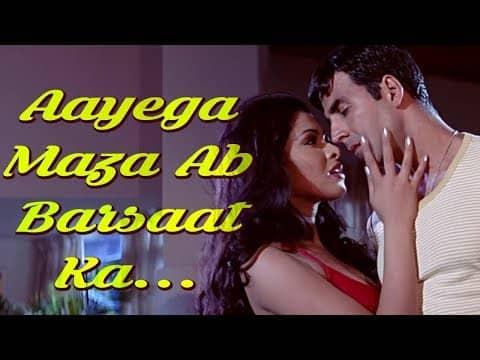 Aayega Maza Ab Barsaat Ka  (आएगा मज़ा अब बरसात का ) Lyrics- Andaaz | Alka Yagnik, Babul Supriyo