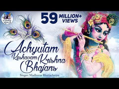 Achyutam Keshavam (अच्चुतम केशवं) Lyrics- Anup Jalota - Bhajan Icon | Anup Jalota