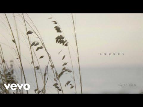 August Lyrics- Folklore | Taylor Swift