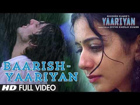 Iss Darde Dil Ki Sifarish (Baarish) Lyrics -Yaariyan