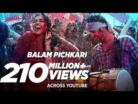Balam Pichkari (बलम पिचकारी) Lyrics- Yeh Jawaani Hai Deewani | Vishal Dadlani, Shalmali Kholgade