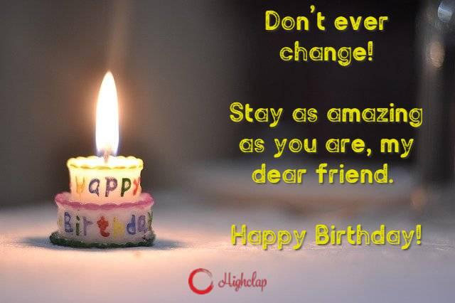 Happy Birthday Quote for best friend