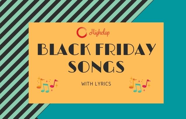5 Black Friday Songs To Play While You Shop The Best Deals