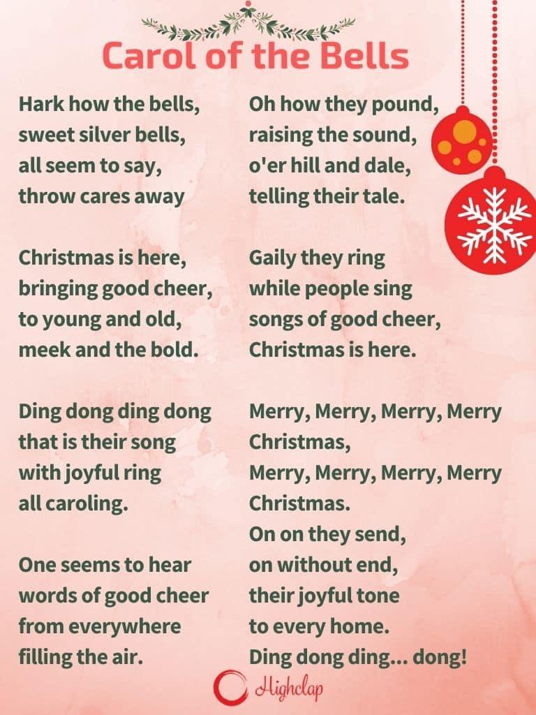 Carol of the bells Christmas carol