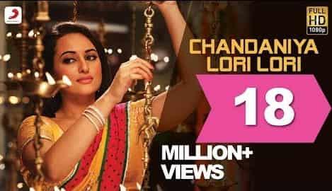 Chandaniya (Lori Lori) (चंदनिया छुप जाना रे) Lyrics- Rowdy Rathore   Shreya Ghoshal