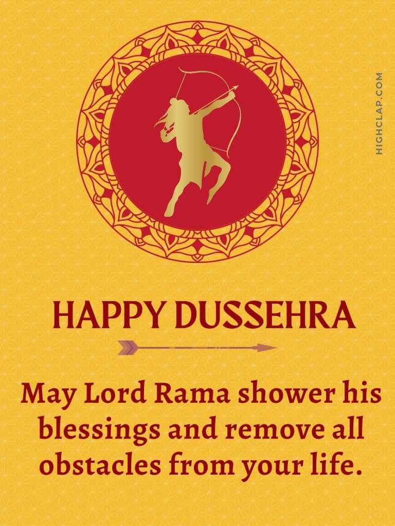 Vijayadashami wishes   Lord Rama