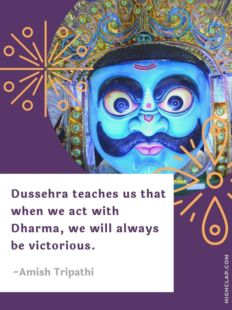 Best Motivational Dussehra Quotes