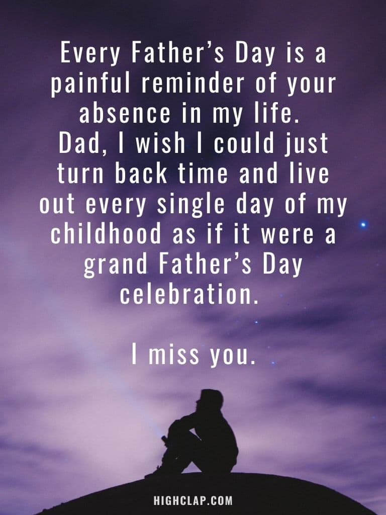 Fathers Day In Heaven Quotes From Son