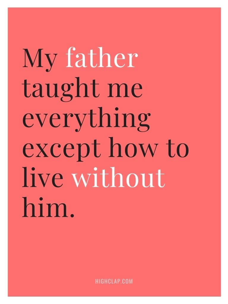 Fathers Day In Heaven Quotes From Daughter