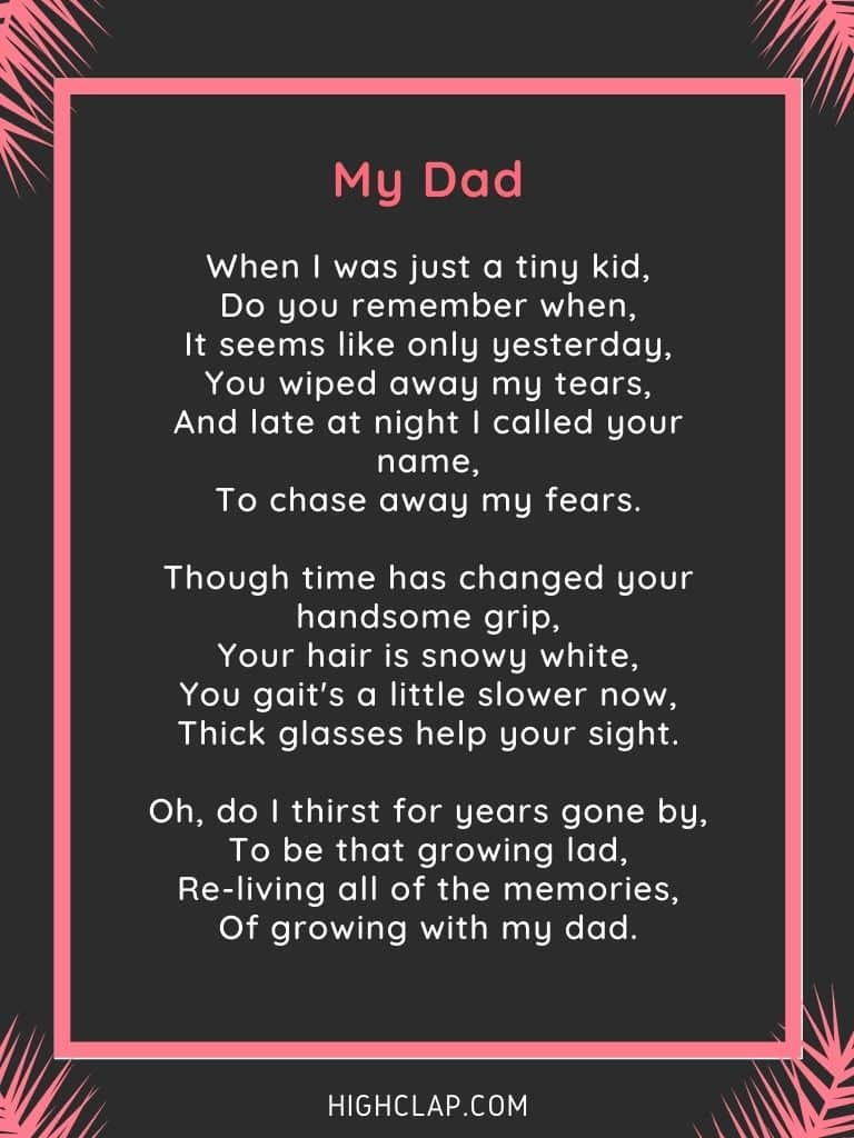 My Dad - Father's Day Poem