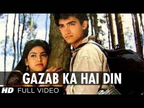 Gazab Ka Hai Din (ग़ज़ब का है दिन) Lyrics- Qayamat se Qayamat Tak | Alka Yagnik, Udit Narayan