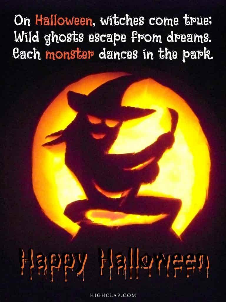 Halloween quote by Nick Gordon