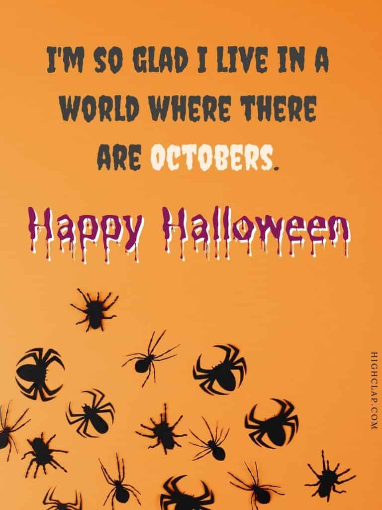 Halloween quote by L.M. Montgomery