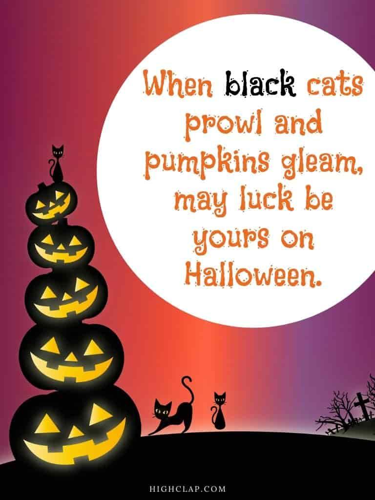 Halloween quote
