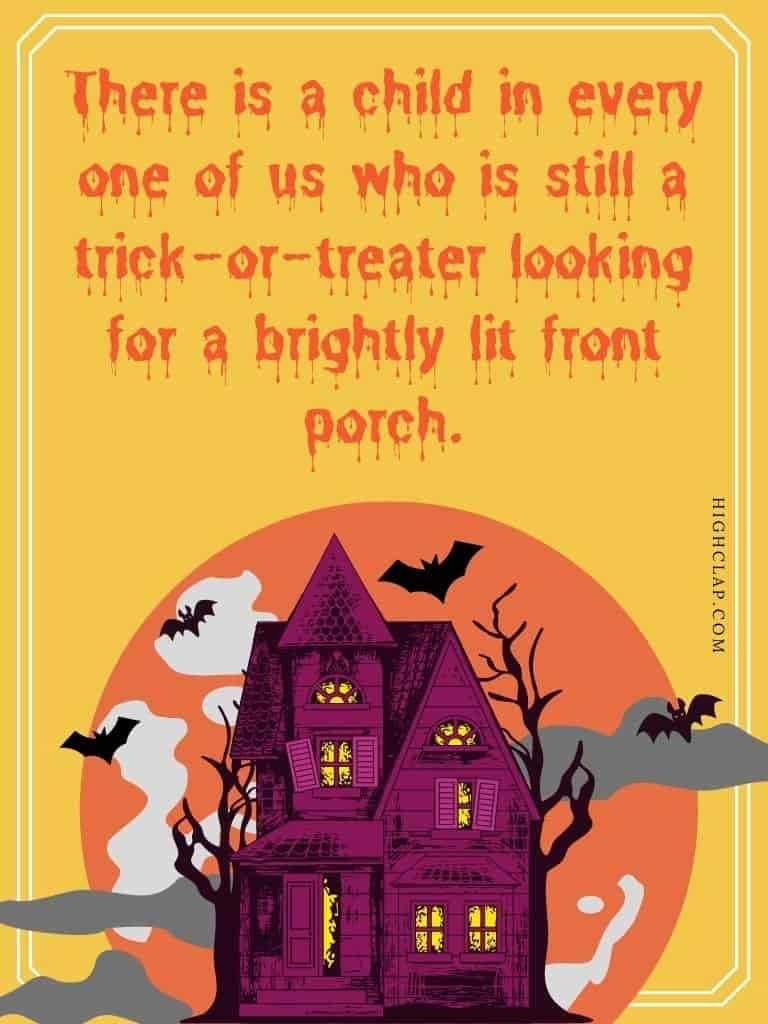 Halloween quote by Robert Brault