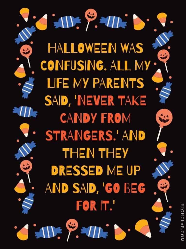 Halloween quote by Rita Rudner
