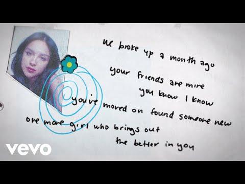 happier Lyrics- SOUR | Olivia Rodrigo, Dan Nigro