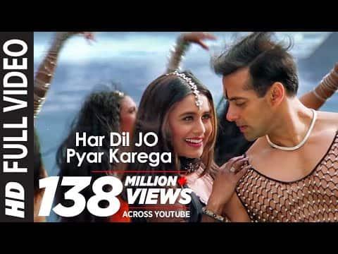 Har Dil Jo Pyar Karega (हर दिल जो प्यार करेगा) Lyrics- Har Dil Jo Pyar Karega | Udit Narayan, Alka Yagnik