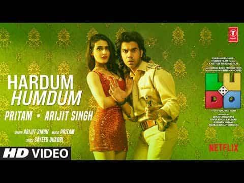 Hardum Humdum (हरदम हमदम) Lyrics- Ludo | Arijit Singh