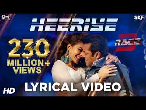 Heeriye (हीरिए) Lyrics- Race 3 | Deep Money, Neha Bhasin