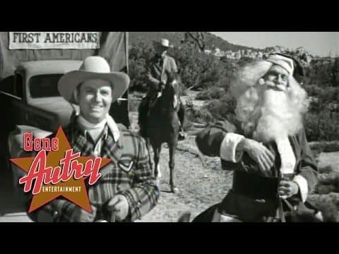 Here Comes Santa Claus (Down Santa Claus Lane) Lyrics- Gene Autry