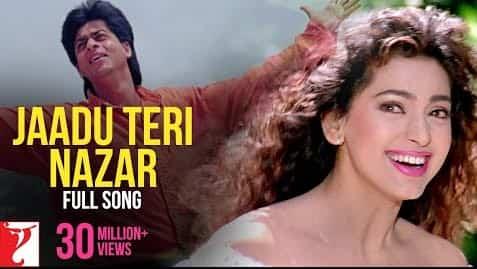 Jadoo Teri Nazar (जादू तेरी नज़र) Lyrics- Darr | Udit Narayan