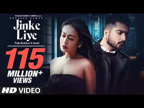 Jinke Liye Hum Rote Hain Lyrics - Neha Kakkar ft. Jaani Johan