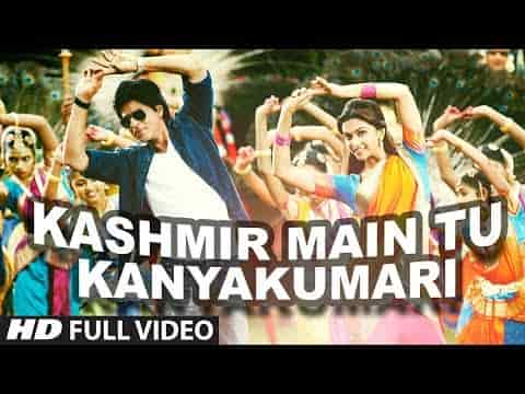 Kashmir Main Tu Kanyakumari (कश्मीर में तू कन्याकुमारी) Lyrics - Chennai Express