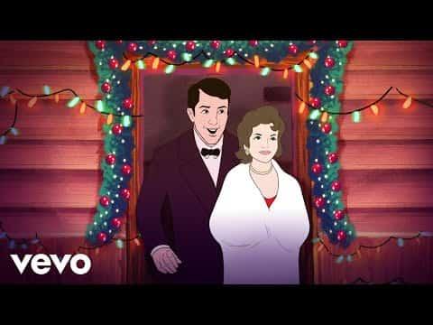 Let It Snow! Let It Snow! Let It Snow! Lyrics- A Winter Romance | Dean Martin