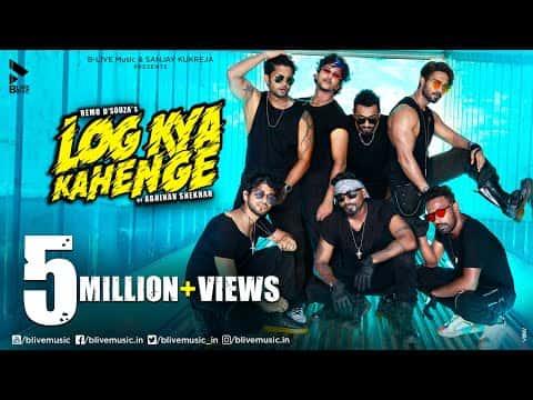 Log Kya Kahenge (लोग क्या कहेंगे) Lyrics- Abhinav Shekhar | Remo D'Souza