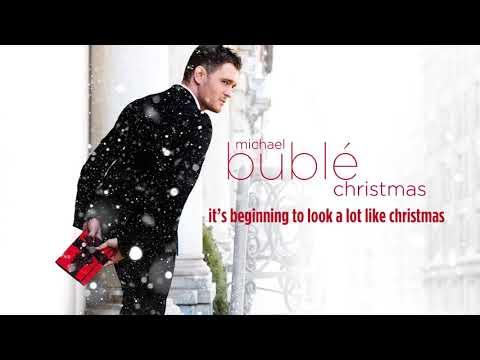 It's Beginning to Look a Lot Like Christmas Lyrics | Michael Buble