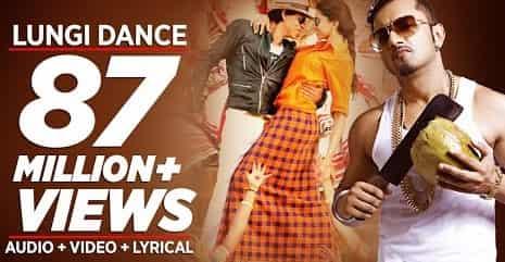 Lungi Dance (लुंगी डांस) Lyrics- Chennai Express | Yo Yo Honey Singh