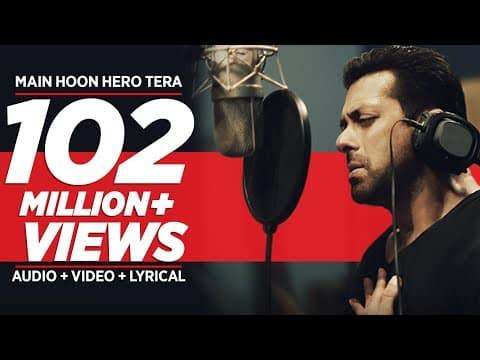 Main Hoon Hero Tera (मैं हूँ हीरो तेरा) Lyrics- Hero | Salman Khan
