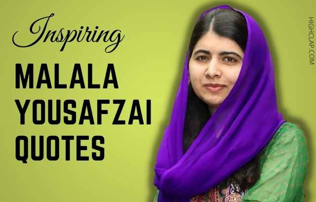 Malala Yousafzai Quotes On Education And Women's Equality