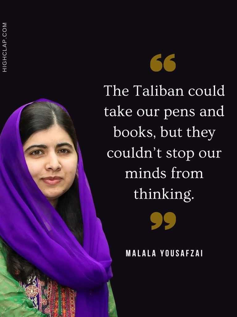 Malala Quote On Bravery