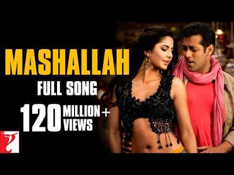 Mashallah - Ek Tha Tiger (माशाल्लाह - एक था टाइगर) Lyrics- Ek Tha Tiger | Wajid Khan, Shreya Ghoshal