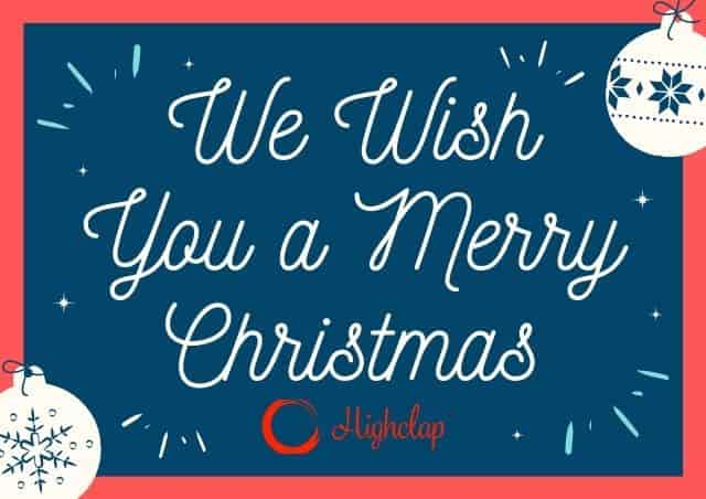 We Wish You A Merry Christmas Lyrics- Christmas Carol
