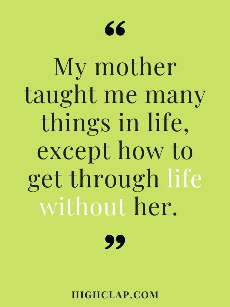 Mother's Day In Heaven Quotes From Daughter