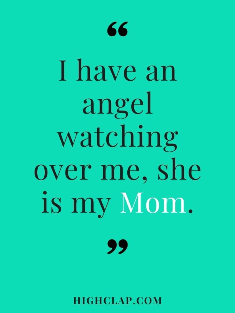 Mother's Day In Heaven Quotes From Son