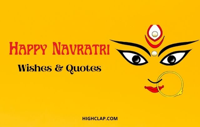 Navratri Wishes, Quotes, Status And Caption