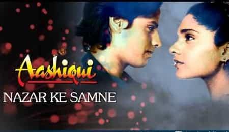 Nazar Ke Saamne (नज़र के सामने) Lyrics- Aashiqui | Kumar Sanu, Anuradha Paudwal