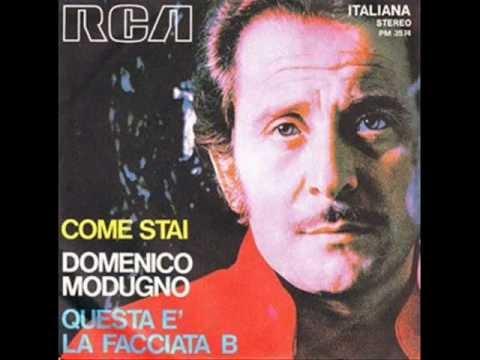 Nel blu, dipinto di blu (Volare) Lyrics- Domenico Modugno