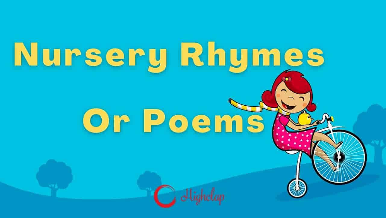 Nursery Poems Or Rhymes In Hindi For Kids | Hindi Balgeet