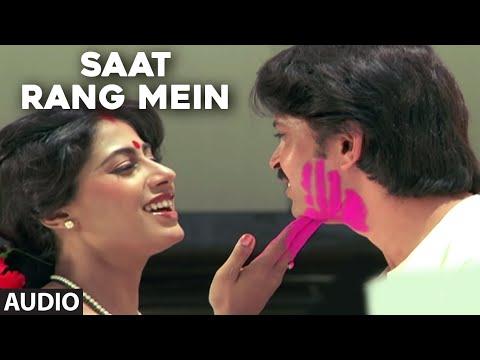 Saat Rang Mein (सात रंग में) Lyrics- Aakhir Kyon | Amit Kumar, Anuradha Paudwal
