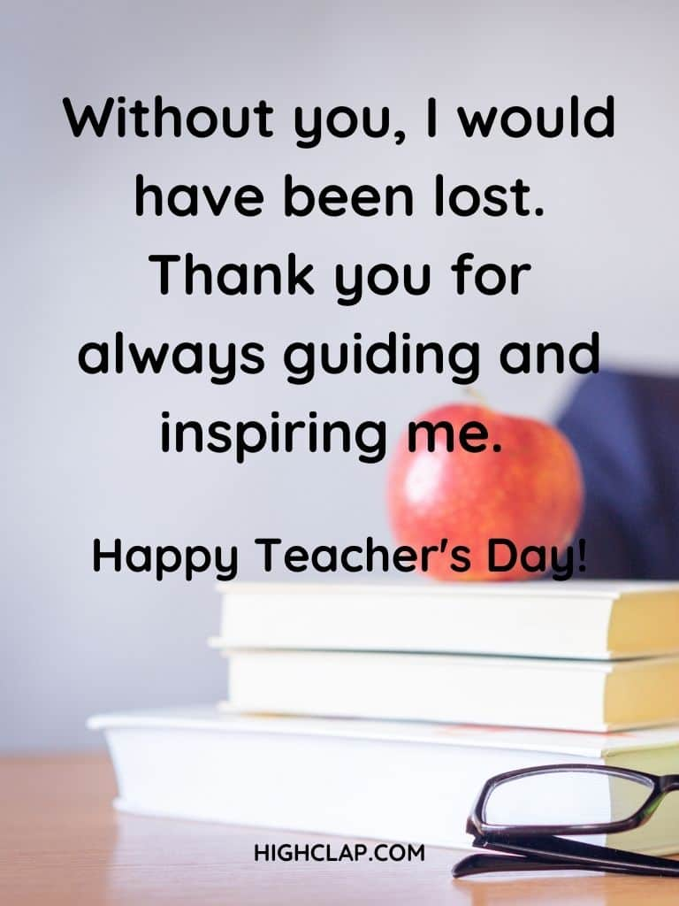 Heart Touching Teachers Day Quotes