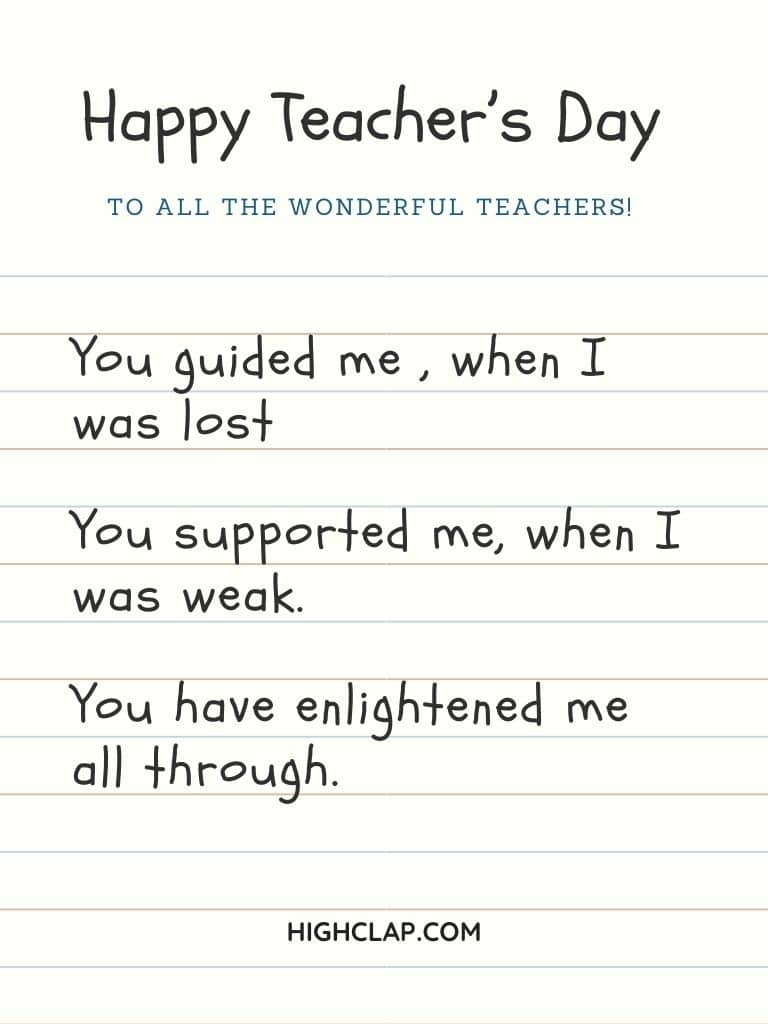 Best Teachers Day  Status And Messages